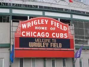 Welcome to Wrigley Field