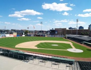 Riverfront Stadium in Newark, NJ