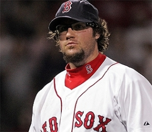 """Gagne is french for """"Sucked in a Red Sox uniform"""""""