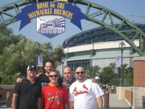 Overall it was a good day at Miller Park