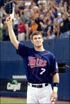 Mauer is superman for the Twins