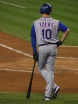 Young's injury hurts the Rangers playoff chances